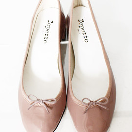 Repetto - Patent-leather ballet pumps・marmotte