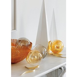 CB2 - luster gold ornaments