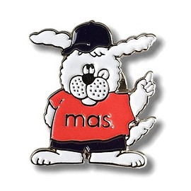 MAS. - Enamel Pins『MR.MASTA』