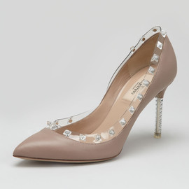 VALENTINO - Rockstud Naked Pump, Poudre