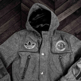 adidas originals, Brooklyn Nets, Dehen - Inagugural Season Jacket