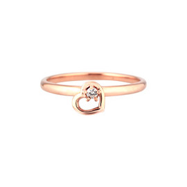star jewelry - MOVING HEART RING