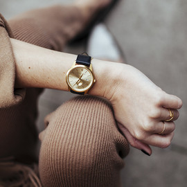 Larsson & Jennings - Larsson & Jennings Saxon Gold Watch