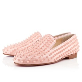 Christian Louboutin - ROLLING SPIKES FLAT PATENT
