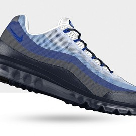 Nike - Air Max 95 Dynamic Flywire iD - Blue/Grey