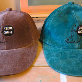 STOMACHACHE. - Cap(Brown/Green)