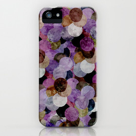Society6 - Circles III iPhone & iPod Case
