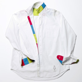 BiceSter - FLUORESCENT OXFORD B.D SHIRT