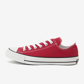 CONVERSE - ALL STAR 100 COLORS OX / RED
