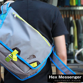 THE NORTH FACE - HEX MESSENGER M / ジンクグレー