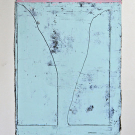 Jai Llewellyn - Untitled #6, 2013, oil, oil based ink & graphite on paper