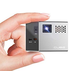 RIF6 - Cube 2-inch Mobile Projector with 20,000 Hour LED Light and ~