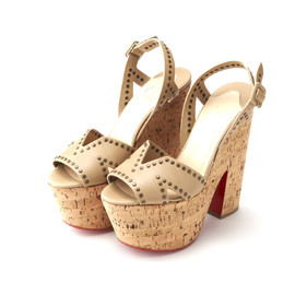Christian Louboutin - Open toe Studded Sandals