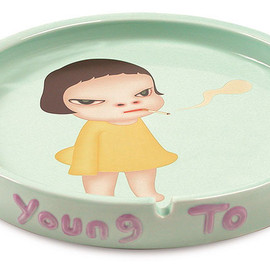 奈良美智 - Too Young To Die Dish
