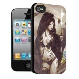 ohneed - Dynamic 3D Effect IPhone 4/4S Case-Sorceress