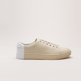 THEY NEW YORK - Two-tone Low in Beige-White