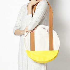 COSMIC WONDER Light Source - CLS CIRCLE TOTE BAG - SMALL (YELLOW)