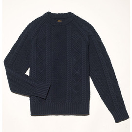 L.L.Bean Signature - Cotton Fisherman Sweater