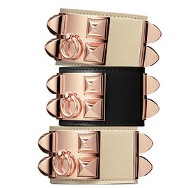 HERMES - Collier de Chien Permabrass Rose Gold