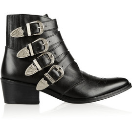 TOGA - Toga Buckled Leather Ankle Boots