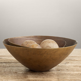 Restoration Hardware - Aged Brass Bowl