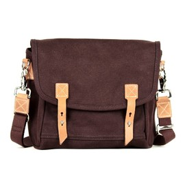 "Makr Carry Goods - ""Farm Satchel"" - Shoulder Bag (Brown)"