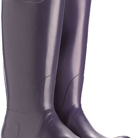 HUNTER - Original Tall Boot-aubergine