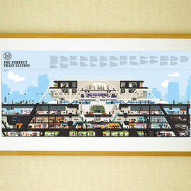 The Monocle Shop - Perfect Train Station Poster