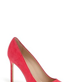 Manolo Blahnik - BB strawberry suede