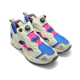 Reebok - Reebok INSTA PUMP FURY   SUPER NEUTRAL/MOONLIGHT BLUE/CONDENSED PINK