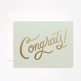 Rifle Paper co. - Timeless Congrats Card