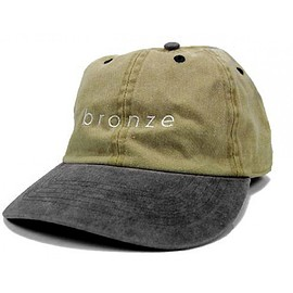 Bronze 56K - Two Tone Dad Cap (Khaki / Charcoal)