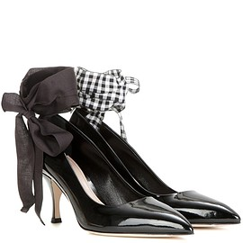 miu miu - SS2016 Patent leather pumps