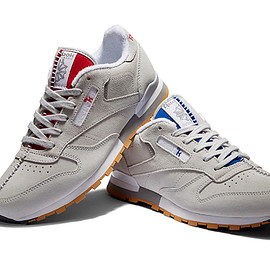 KENDRICK LAMAR, REEBOK CLASSIC - CLASSIC LEATHER SKULL GREY/COLLEGIATE ROYAL-EXCELLENT RED
