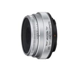 PENTAX - Pentax-05 Toy Lens Telephoto Silver for Pentax Q Mount