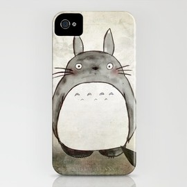 Society6 - Totoro and friends iPhone Case