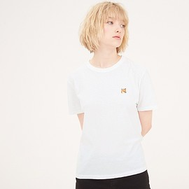 MAISON KITSUNE - TEE SHIRT FOX HEAD PATCH