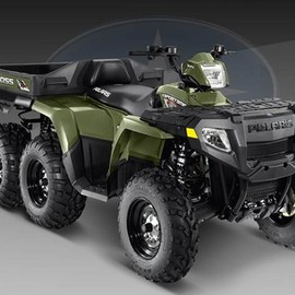 Polaris - sportsman big boss 6x6 800 efi ATV 2009
