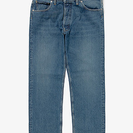 maison margiela - STONE ENZYME WASH DENIM PANTS