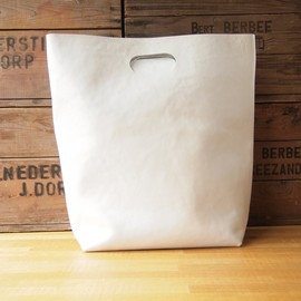 Hender Scheme - not eco bag big #white