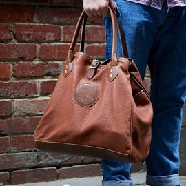 YUKETEN - Leather Tote With Strap