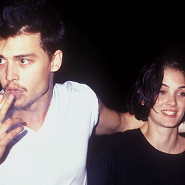 // - Winona Ryder & Johnny Depp