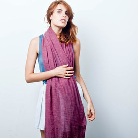 Everlane - The Essential Scarf (Purple)
