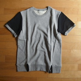 "DISCOVERED - SLIT POINT SWEAT ""GRAY x BLACK"""