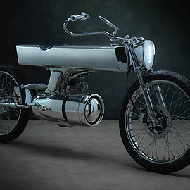 Bandit9 - 'L•Concept' Honda SuperSport 125