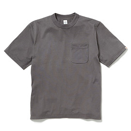 HEAD PORTER PLUS - POCKET TEE GREY