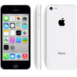 Apple - iPhone 5c 32 GB (White)