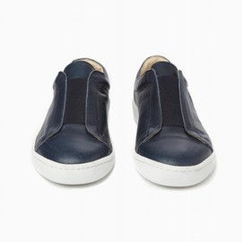 YMC - Leather Elastic Slip On