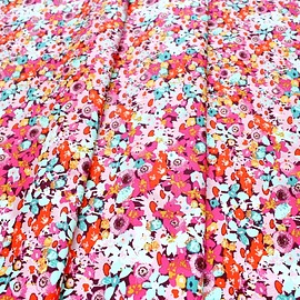 Art Gallery Fabrics - Splendid Fusion Flowered Medley Splendid