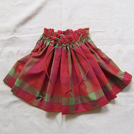 MAKIE - Skirt JAYA Red Plaid